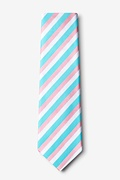 Great Abaco Turquoise Extra Long Tie Photo (1)