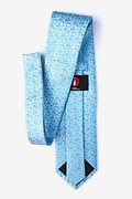 Harrington Turquoise Extra Long Tie Photo (1)