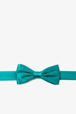 _Turquoise Bow Tie For Boys_
