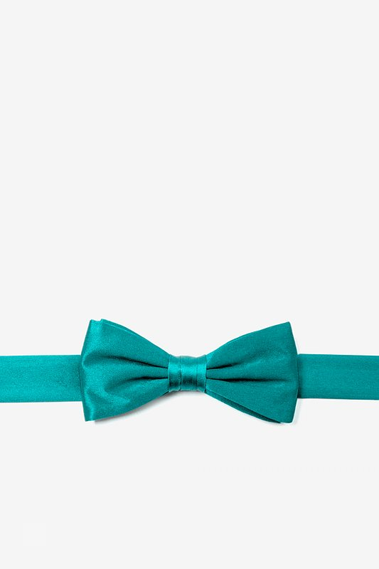 Turquoise Bow Tie For Boys