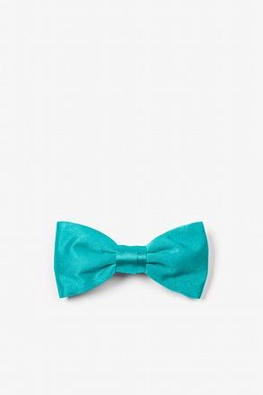 _Turquoise Bow Tie For Infants_