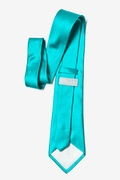 Turquoise Extra Long Tie Photo (2)