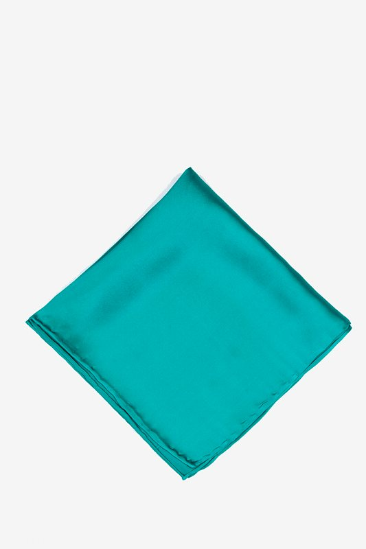 Turquoise Pocket Square Photo (0)