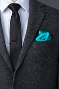 Turquoise Pocket Square Photo (2)
