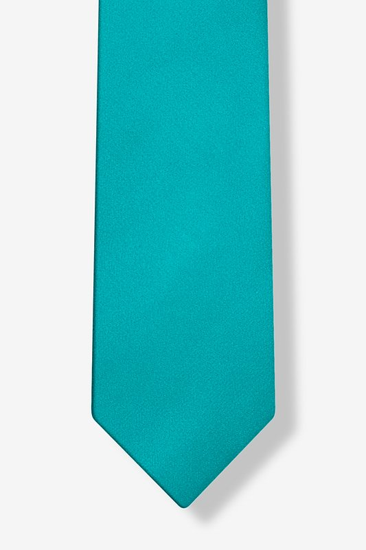 Turquoise Tie For Boys Photo (3)