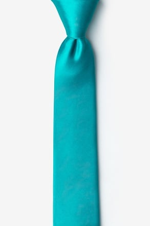 Turquoise Tie For Boys