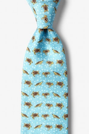 _Turtles & Bubbles Tie_