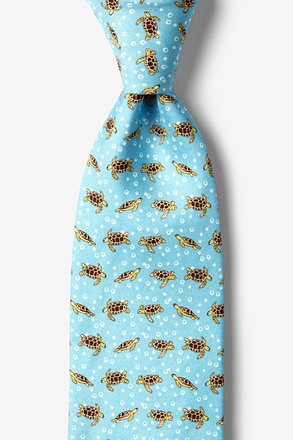 Turtles & Bubbles Tie