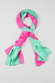 Turquoise Viscose Ariel Scarf