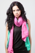 Ariel Turquoise Scarf by Scarves.com
