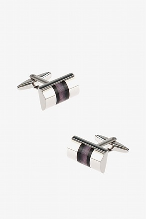 _Barrel Stripe Cufflinks_
