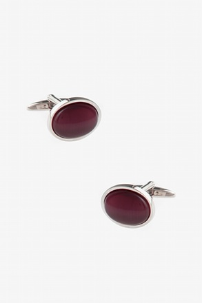 _Simple Oval Cufflinks_