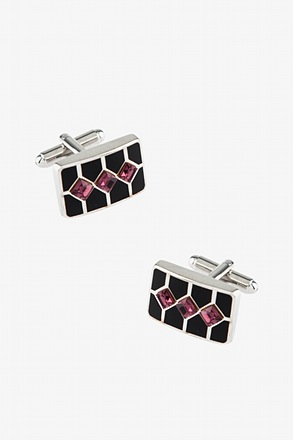 Striped Gems Cufflinks
