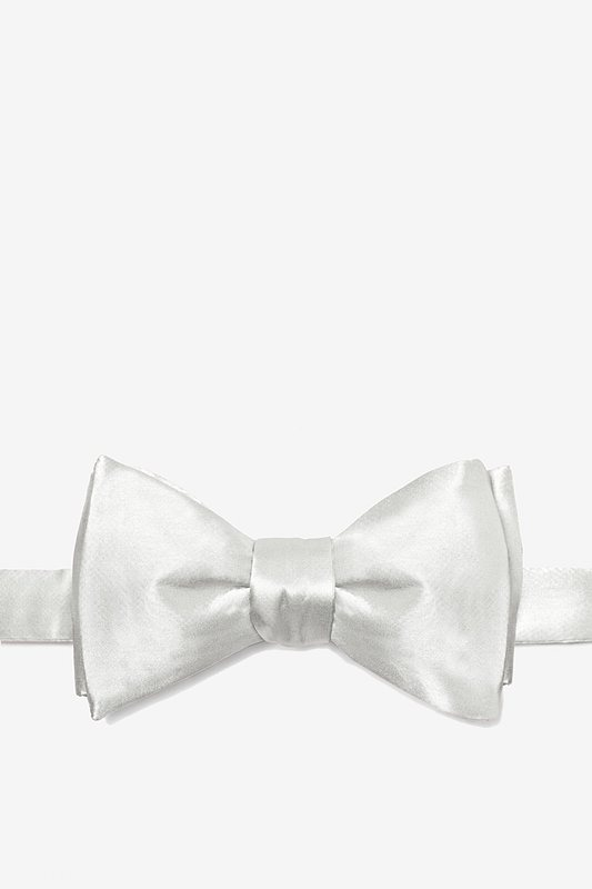 Wedding Day White Bow Tie