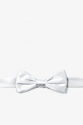 Wedding Day White Bow Tie For Boys