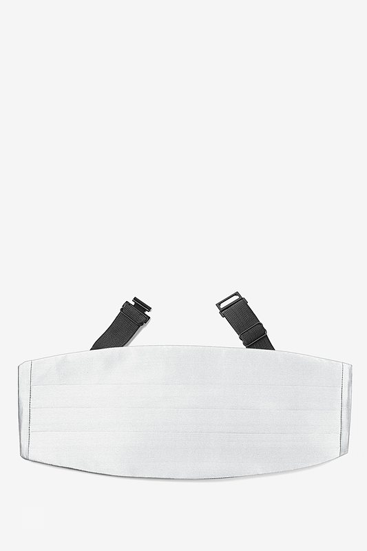 Wedding Day White Cummerbund Photo (0)