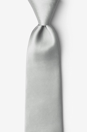 _Wedding Silver Tie_