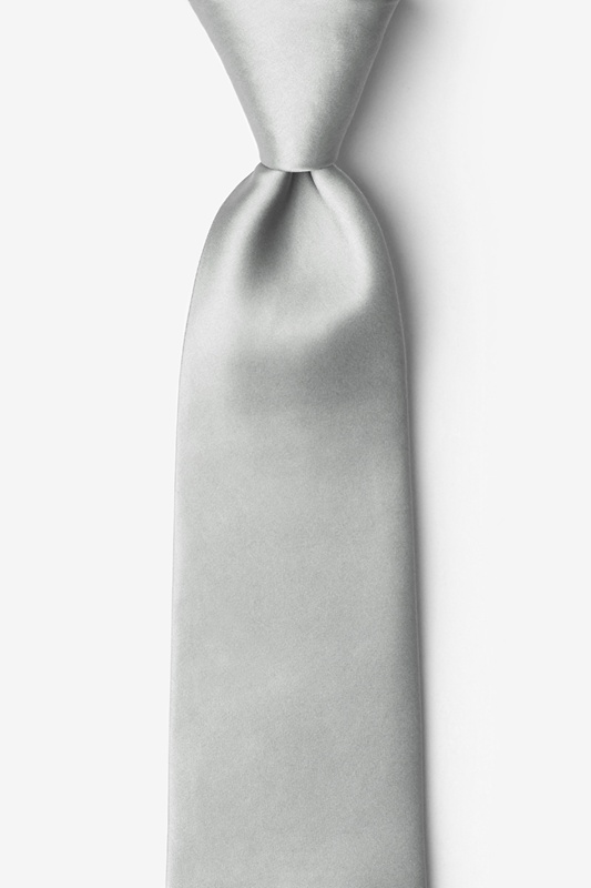 Wedding Silver Tie