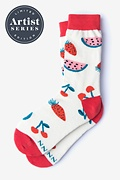 Alynn® X Jordan Sondler Fruit Women's Sock
