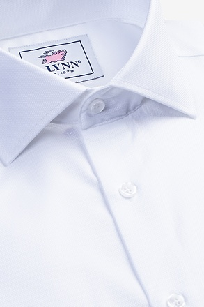 Aiden Cutaway Collar White Classic Fit Dress Shirt