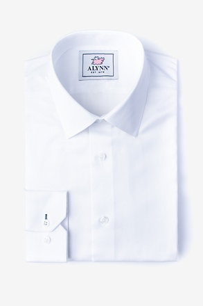 _Oliver White Classic Fit Dress Shirt_