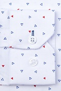 Percy Classic Fit Untuckable Dress Shirt
