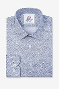 Reid Floral Slim Fit Untuckable Dress Shirt