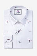 Sheldon Slim Fit Untuckable Dress Shirt