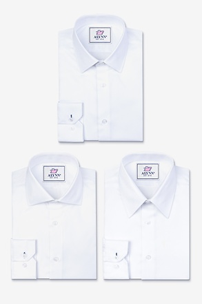 _The Ultimate Essentials White Shirt Pack_
