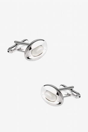 Gemstone Eye Cufflinks