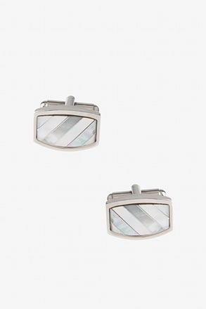 Pearly Bars Cufflinks