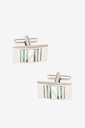 Shining Stripes Cufflinks