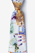 Euro Money Extra Long Tie