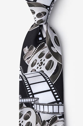 _Film & Movie Reels Tie_
