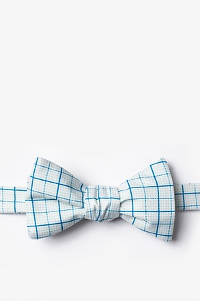 Graph Paper Self-Tie Bow Tie