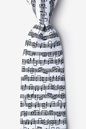 _Sheet Music White Tie_