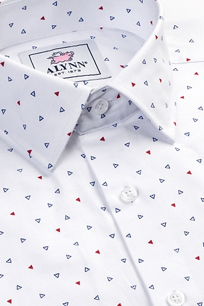 Percy Slim Fit Untuckable Dress Shirt