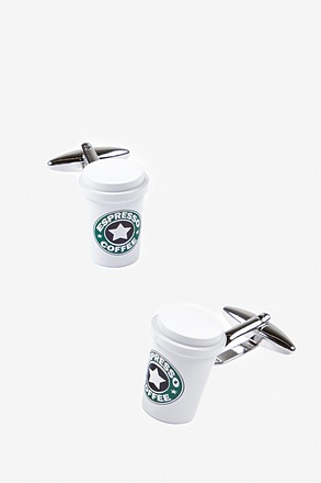 Coffee Cups Cufflinks