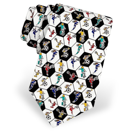 Soccer Sensation Boys Tie by Alynn Novelty