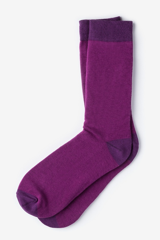 Hollywood Solid Wine Sock