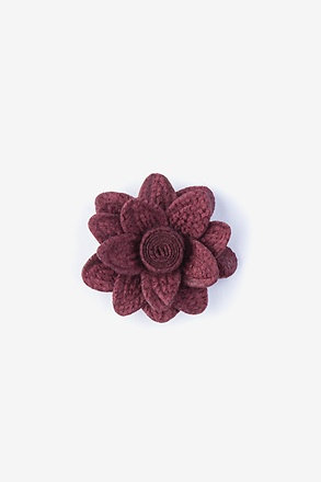 _Aster Wine Lapel Pin_