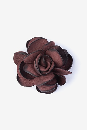 Blooming Flower Wine Lapel Pin