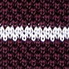 Wine Silk Briton Stripe