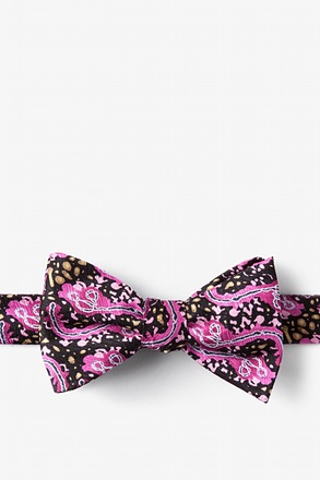 _Ebola Wine Self-Tie Bow Tie_