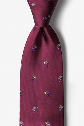 Grape Minds Drink Alike Tie