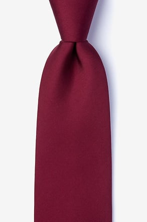 Wine Extra Long Tie