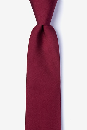 _Wine Tie For Boys_
