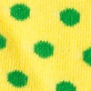 Yellow Carded Cotton Buena Park Polka Dot Sock