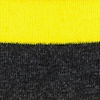 Yellow Carded Cotton Rugby Stripe Sock