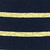 Yellow Carded Cotton Virtuoso Stripe Sock